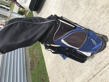 Golf Club set w/ bag Dunlop blue/silver/black in Camp Lejeune, North Carolina