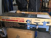 Mini woodworking lathe (from Harbor Frieight) in box in Camp Lejeune, North Carolina