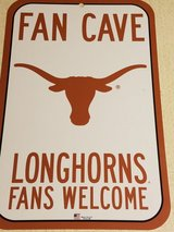 UT University of Texas Longhorns Sign NCAA Football Basketball Baseball Austin in Houston, Texas