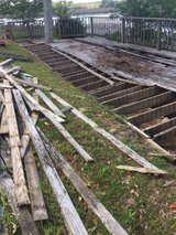 Free for removal - treated lumber - wood in Beaufort, South Carolina