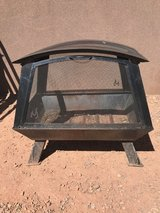 Fire pit in Alamogordo, New Mexico