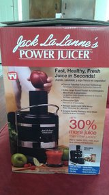 JACK LALANE'S POWER JUICER (NEVER USED/IN BOX) in Fairfield, California