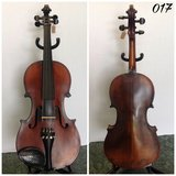 "Full size ""Ole Bull"" violin #017 in Lockport, Illinois"