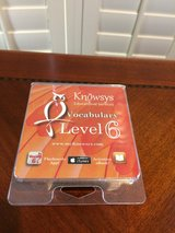 Knowsys Vocabulary Level 6 Flashcards in Kingwood, Texas