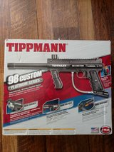 Tippmann 98 Custom w/Double Trigger, 2 Tanks, and Proto Fighter Harness w/Speed Tubes in San Diego, California