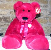 2001 Ty Valentina Bear Large Retired in Great Lakes, Illinois