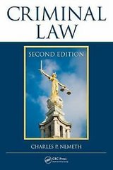 Pierce college!!Details about  Criminal Law, Second Edition by Charles P. Nemeth Hardcover Book ... in Fort Lewis, Washington