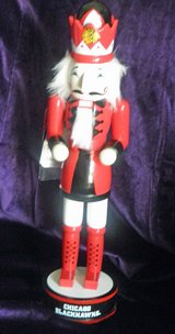 Chicago Blackhawks Nutcracker New with tags in Palatine, Illinois