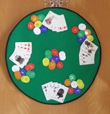 Hand Made One of A Kind Poker Wall Hanging in Great Lakes, Illinois