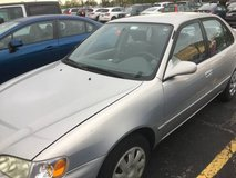 Toyota Corolla 2002, well maintained in Chicago, Illinois