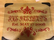 Personalized Glass Cutting Boards in Fort Campbell, Kentucky