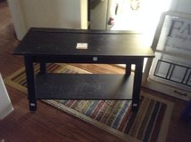 Small Black Table in Fort Campbell, Kentucky