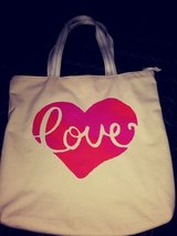 Canvas bag with heart in Spring, Texas