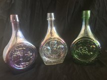 Vintage Commemorative NASA Apollo 15, 16 & 17 Decanters in Alamogordo, New Mexico