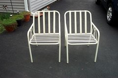 PAIR OF STURDY LAWN CHAIRS in Batavia, Illinois