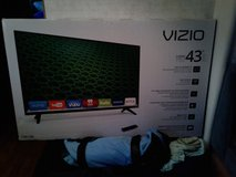 "Smart Tv VIZIO 43""  BRAND NEW TO BIG FOR MY PLACE in Perry, Georgia"