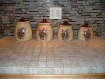 Canister Set/4 pieces/Southwest Style in Naperville, Illinois