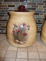 Canister Set/3 pieces/Southwest Style in DeKalb, Illinois