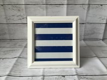 White tabletop picture frame in Okinawa, Japan