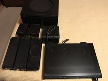Panasonic 5 CD player Home Theater System w/surround sound - includes remote in Joliet, Illinois