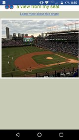 4 Cubs tickets to games 5/1-5/4 in Glendale Heights, Illinois