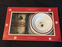 3 Sets of Pottery Barn Kids Holiday Melamine Dishes in Kingwood, Texas