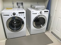 LG Washer & Dryer Combo (WM2650HWA and DLEX2650W) in Vacaville, California