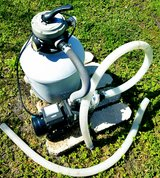 Above ground Pool Pump and Sand filter Sand Pro 75D in Camp Lejeune, North Carolina