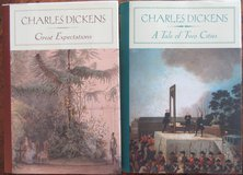 Charles Dickens: Great Expectations & A Tale Of Two Cities Hard Bound Like New in Ramstein, Germany