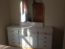 3piece bedroom set, dresser with mirror,armoire and night stand in Chicago, Illinois