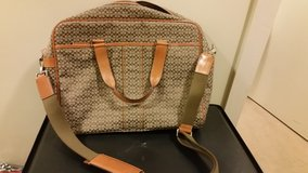 Authentic Bown w/ C's Coach laptop/book bag in Okinawa, Japan