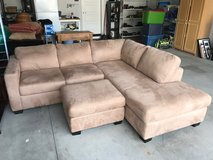 Sofa/couch sectional with ottoman in Mountain Home, Idaho