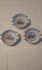 Nascar Logo Set of 3 Melamine Plastic Bowls in Elgin, Illinois