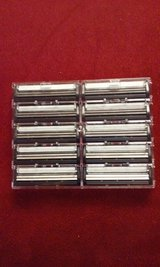 Gillette Trac II style (10) Razor Blades Slide-On type in Elgin, Illinois