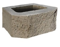 CURB ALERT! Beveled Retaining Wall Block in Chicago, Illinois