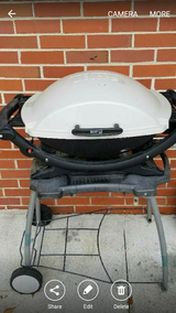 Weber Q 2000 with stand in Camp Lejeune, North Carolina