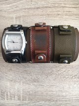 Fossil watch with leatherbands in Ramstein, Germany
