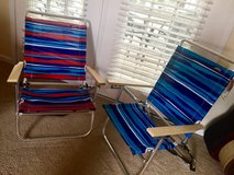 2 NEW Beach Chairs!! (only used once!) in Wilmington, North Carolina