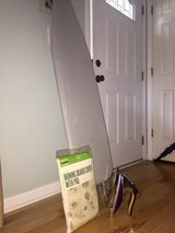 Ironing Board + Iron + Ironing Board cover w/ Pad in Wilmington, North Carolina