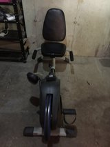 Recumbent exercise bike in Bartlett, Illinois