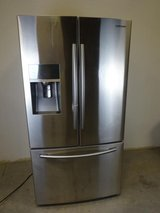 Samsung Stainless Double Door Refrigerator in League City, Texas