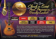 Hire Musicians for Chruch - Anointed Musicians in Anchorage, Alaska