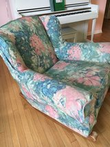 Walter E. Smithe rocking chair with removable slipcover (2nd slipcover included) in Batavia, Illinois
