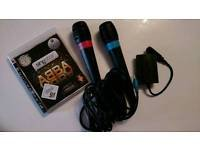 Playstation 3 and Abba Singstar in Ramstein, Germany