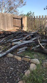 Free wood in Oceanside, California
