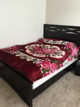 Queen bed frame in Fort Lewis, Washington