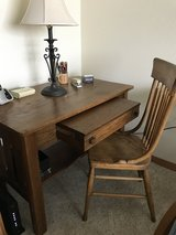 Antique desk and chair in Glendale Heights, Illinois
