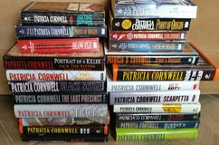 Lot of 23 Patricia Cornwell Books-Hardbound & Paperback in 29 Palms, California