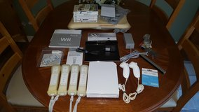 Wii Console with Many Extras in Cherry Point, North Carolina