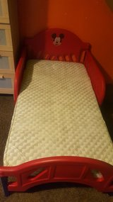 Toddler bed with matress in Batavia, Illinois